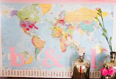 21 Spectacular Bridal Shower Themes: Travel! : Ultimate Bridesmaid