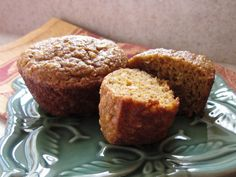 Healthy pumpkin muffins (that's what previous pinner said). I sure hope they are healthy!