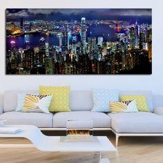 Πανοραμικός πίνακας σε καμβά ουρανξύστες Outdoor Sectional, Sectional Sofa, Couch, Outdoor Furniture, Outdoor Decor, Home Decor, Modular Sofa, Decoration Home, Corner Sofa