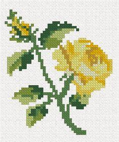 Cross Stitch rose machine embroidery set - a set of 3 cross stitch rose embroideries. Learn Embroidery, Embroidery For Beginners, Embroidery Techniques, Cross Stitch Embroidery, Flower Embroidery, Hand Embroidery Tutorial, Machine Embroidery Designs, Embroidery Patterns, Cross Stitch Rose
