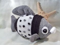 Finlay Plush Fish Toy  Twilight Sparkle by SIXIT on Etsy, $15.00