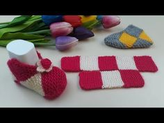Knit Shoes, Peppa Pig, Baby Knitting Patterns, Baby Booties, Knit Crochet, Slippers, Handmade, Youtube, Knitting Tutorials