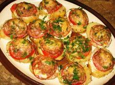 картофель с мясом рецепт