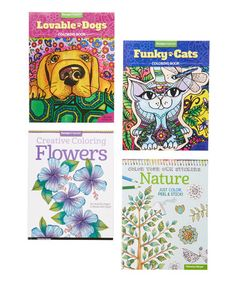 Another great find on #zulily! Nature & Dog Coloring Book Set #zulilyfinds