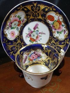 #Antique #Davenport #teacup #& #saucer by Hercio Dias