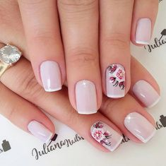 Best Nail Art Designs 2018 Every Girls Will Love These trendy Nails ideas would gain you amazing compliments. Check out our gallery for more ideas these are trendy this year. Best Nail Art Designs, Beautiful Nail Designs, Trendy Nail Art, Cool Nail Art, Pink Nails, Gel Nails, French Nails, Manicure And Pedicure, Pretty Nails