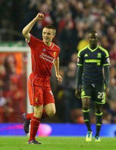 Liga Cup. Liverpool vs Middelsbrough -- Rositter