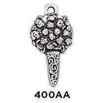 Small Bouquet Charm Sterling Silver .925
