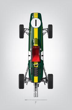 Ricardo Santos - Jim Clarke 1962 Lotus