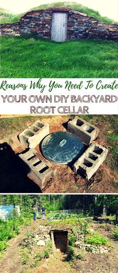 The Unbelievable Reasons Why You Need To Create Your Own DIY Backyard Root Cellar - Root cellars are one of the first ways that humans were able to store food, long before electricity was even a flicker in Thomas Edison's mind. Folks today are still building their very own root cellars as DIY alternatives to the ordinary indoor fridge — and it's surprisingly easy!