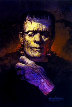 Nearly 50 of the covers for Famous Monsters magazine in the 60s and 70s were painted by Basil Gogos