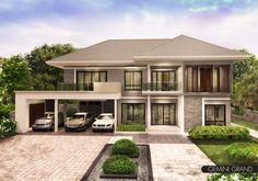 รับสร้างบ้าน : Gemini Grand รับสร้างบ้าน ขนาดที่ดิน : 25.00 x 16.50 ตร.ม นอน / น้ำ / จอดรถ : 4 / 4 / 3 พ.ท. ใช้สอย : 396 ตร.ม ราคา : 8 ล้านบาท - 9 ล้านบาท เครดิต รับสร้างบ้าน
