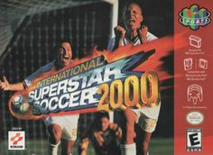 ISS 2000 - N64 Cover