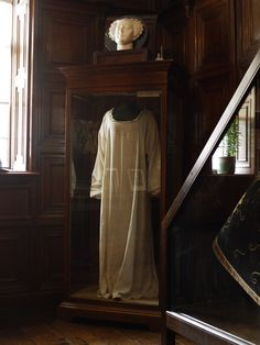 The Chemise worn by Mary Queen of Scots During her Execution; shown at Coughton Court
