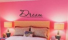 Amazon.com: Dream follow your heart wherever it takes you vinyl lettering wall sayings art: Home & Kitchen