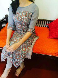 Churidar Designs, Kurta Designs Women, Kurti Neck Designs, Blouse Designs, Salwar Pattern, Kurta Patterns, Dress Patterns, Indian Attire, Indian Wear