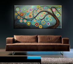Tree painting...I wanna make this!!!