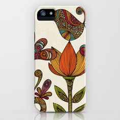I think my 4s needs this. In the garden iPhone Case by Valentina