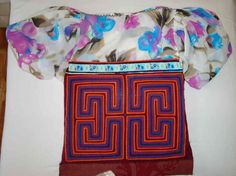 Kuna Indian Maze Mola Blouse Art Panama - 3.ib1677