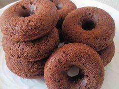 本格焼きドーナツ★チョコVersionの画像 Baked Donuts, Doughnuts, Delicious Donuts, Health Diet, Japanese Food, Chocolate Recipes, Bagel, Deserts, Favorite Recipes
