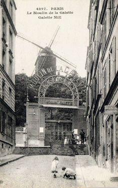 Paris 1900, Old Paris, Ireland Vacation, Ireland Travel, Paris Eiffel Tower, Eiffel Towers, Metro Paris, Paris At Night, Montmartre Paris