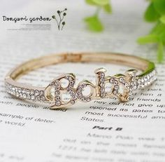 Aliexpress.com : Buy Min. order 6pcs/lot(Mix Color) Hot Selling White Gold Plated Alphabet Bangles Wholesale Free shipping HS D0055 from Reliable Bangles suppliers on Hopenhagen store
