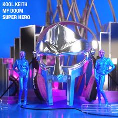 """DEF!NITION OF FRESH : Kool Keith + MF Doom - Super Hero...Today, in anticipation of Kool Keith's upcoming solo album, """"Feature Magnetic"""", Billboard premiered Kool Keith's newest single, featuring the underground masked legend, MF DOOM. Two of the great pioneers of style in hiphop join forces on, """"Super Hero"""", a spacey and dreamlike track, produced by Kool Keith himself, Number One Producer.  Keith and  MF DOOM trade comic fiction, childhood fantasies meet adult conflict."""