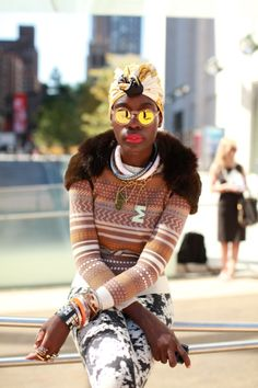 Marian Kihogo: Curator, world traveler, stylist, blogger - all rolled into fearless!