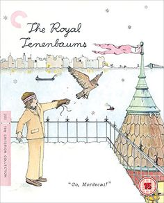 The classic Wes Anderson quirky style of dysfunctional comedy is well on display in The Royal Tenenbaums coming to Blu-ray in a definitive Blu-ray edition from the Criterion Collection. The Royal Tenenbaums, The Criterion Collection, Movie Collection, Wes Anderson Films, La Famille Tenenbaum, Laurent Durieux, Ben Stiller, Good Movies To Watch, Movie Posters