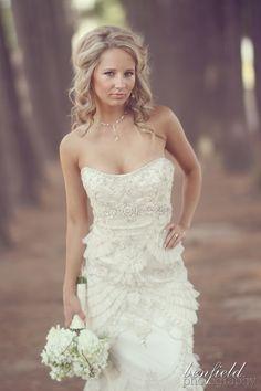 Found this on Benfield Photography website. Lazaro Bridal, Bridal Gowns, Wedding Dresses, Wedding Vows, Dream Wedding, Fantasy Wedding, Wedding Wishes, Perfect Wedding, Wedding Hair