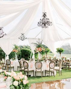 Whimsical Garden Peach and Blush Wedding at Monarch Beach Resort - MODwedding Wedding Scene, Mod Wedding, Casual Wedding, Garden Wedding, Wedding Events, Wedding Reception, Reception Ideas, Weddings, Marquee Decoration
