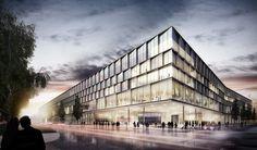 JSWD Architekten - Bus work yard Hybrid.M, Munich, Germany