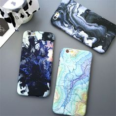 Hot Moon Space Map Marble Case Stone Capa Coque Slim Hard Plastic Phone  Case Cover For iPhone 7 5 SE 6 Fashion Stars Sky Constellation Cover Moon  Space ... 76e19a7f0e
