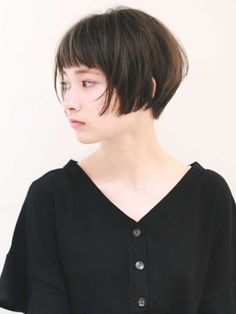 Pin on 前髪 Pin on 前髪 Asian Short Hair, Asian Hair, Short Hair Cuts, Short Hair Styles, Short Hair Undercut, Short Hairstyles For Women, Messy Hairstyles, Bob Hair Color, Pelo Bob