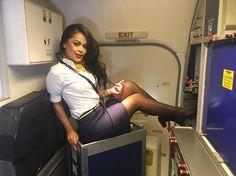 "From @paulari.mermaid - ""Ladies and Gentlemen""I am finally Off Have all a Great Weekend!  #weekend #vibes #cabincrew #crewlife  #flightattendant #aviation #life #aviationlovers #love #fly #smile #spain #tenerife #crewiser - #avgeek"