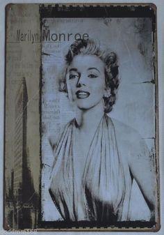 Brand new forever Marilyn Monroe Wall Decor Retro Sign Tin Sign Marilyn Monroe Wall Art, Farmhouse Remodel, Wall Bar, Tin Signs, Wall Decor, Retro, Painting, Madness, Diva