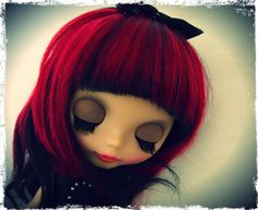 Blythe Doll -- It's a doll, but I'm totally doing that to my hair sometime.