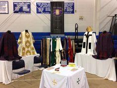 Holy Orders Liturgical Threads at #EDOLA15 http://holyordersliturgicalthreads.com/