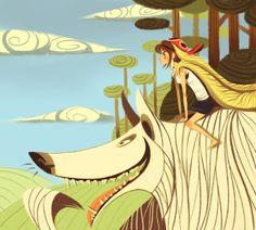 Protectors of Nature - Mononoke Hime  by KleXchen