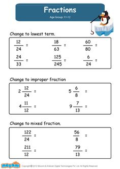 Fractions - Math Worksheet for Kids. For more interesting maths worksheets and activities for kids, visit: http://mocomi.com/learn/maths/