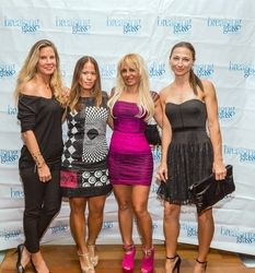 Inger Jensen, Jen Mar, Sabrina A. Parisi, Deni De Denisa Deniska attending the 2015 American Film Market (AFM) - Kitesurfing TV Launch Party with Breaking Glass Pictures held at the Lounge at 1733 Ocean Avenue in Santa Monica, CA, USA on 11/08/2015 | GVA-000402