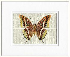 leopard butterfly print by FauxKiss on Etsy
