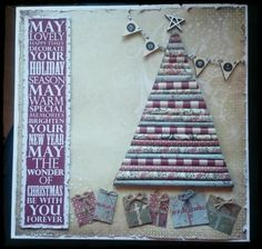 Rustic Christmas canvas