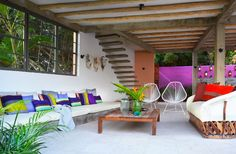 Photo Gallery: Casa Saturno Living Area | Two Mexican Retreats with a Modern Tropical Vibe