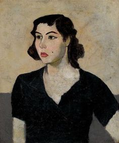 siyahli kadın (woman in black) by nuri iyem