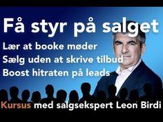 Iværksætter Salgskursus med Leon Birdi