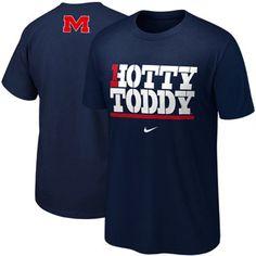 559f7b9cc83c3 Nike Mississippi Rebels Hotty Toddy My School T-Shirt - Navy Blue  Mississippi Football