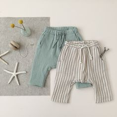 Baby boy fashion kids ideas for 2019 Fashion Kids, Baby Boy Fashion, Fashion Clothes, Baby Girl Pants, Girls Pants, Baby Boy Outfits, Kids Outfits, Neutral Baby Clothes, Baby Sewing