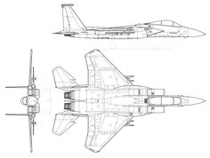McDonnell F-15A DraftSight.svg