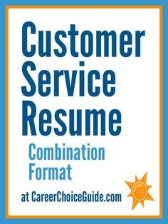 sample resume for a customer service representative - Sample Resumes For Customer Service